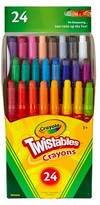 Crayola Mini Twistable Crayons, 24ct - Multicolor