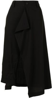 Yohji Yamamoto Asymmetric Hem Skirt