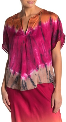 Young Fabulous & Broke Mari Tie Dye Top