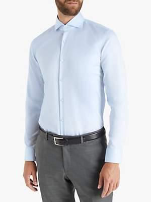 HUGO BOSS HUGO by Kason Cotton Slim Fit Shirt, Light/Pastel Blue