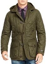 Polo Ralph Lauren Quilted Wool-Blend Coat