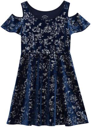 Pastourelle Cold-Shoulder Dress