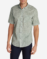 Eddie Bauer Men's Baja Short-Sleeve Shirt - Print