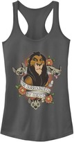"""Disney Juniors' Disney's The Lion King Scar And Hyenas """"I'm Surrounded By Idiots"""" Tank Top"""