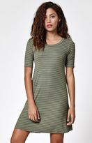 Billabong Lost Heart Stripe T-Shirt Dress
