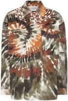 Valentino Embellished printed cotton jacket