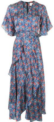 Alexis Alleria floral-print midi dress
