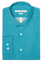 Perry Ellis Slim Fit Shadow Dot Dress Shirt