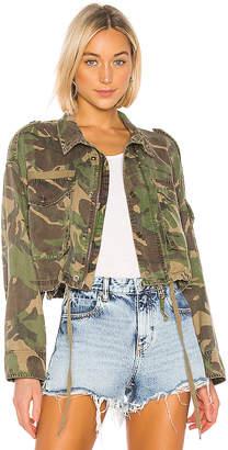Pam & Gela Crop Cargo Jacket