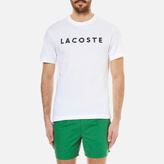 Lacoste Men's Largo Logo TShirt - White