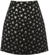 Warehouse Star Jacquard Pelmet Skirt