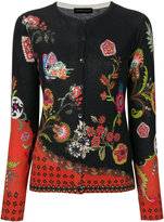 Etro floral embroidered knitted top