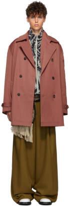 Y/Project Pink Double Lapel Coat