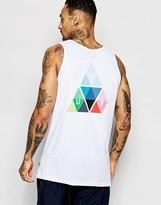 Huf Vest With Triangle Prism Back Logo