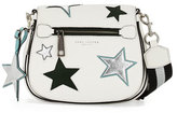 Marc Jacobs Star Patchwork Small Saddle Bag, Star White/Multi