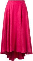 ESTNATION high-waisted flared skirt