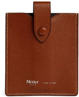 Metier London Leather Playing Cards Case