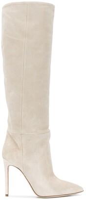Paris Texas Suede Stiletto Boots