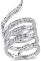 Julie Leah 1/2 CT TW Diamond 14K White Gold Fashion Ring