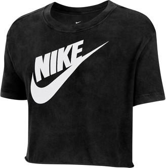 Nike Sportswear Futura Graphic Crop T-Shirt