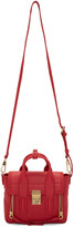 3.1 Phillip Lim Red Mini Pashli Satchel