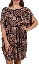 24/7 Comfort Apparel Amalia Butterfly Dress - Plus
