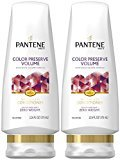 Pantene Colored Hair Color Preserve Volume Conditioner - 12 oz - 2 pk by