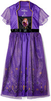 AME Girls' Nightgowns Purple - Frozen Purple Anna Nightgown - Toddler