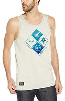 Lrg Men's Research Collection Clustered Front Graphic Tank