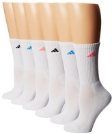adidas Athletic 6-Pair Crew Socks