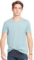 Polo Ralph Lauren Indigo Cotton Jersey T-Shirt