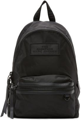Marc Jacobs Black The Medium DTM Backpack