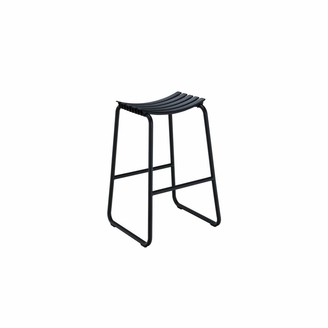 Ecc Lighting & Furniture Clips Bar Stool Black