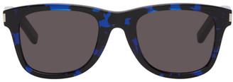 Saint Laurent Black and Blue SL 51 Sunglasses