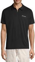 Columbia Short Sleeve Knit Polo Shirt