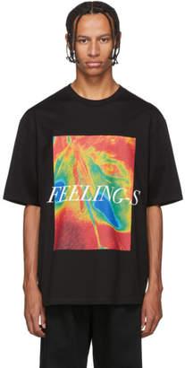 Christian Dada Black Feelings T-Shirt