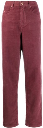 Etoile Isabel Marant High Waisted Tapered Trousers