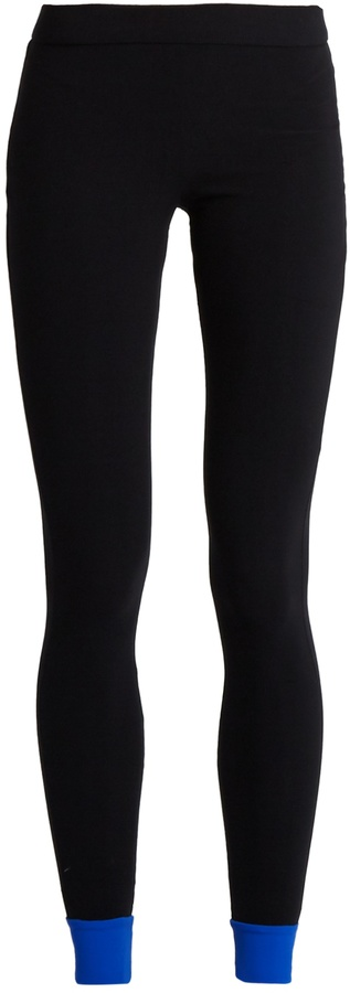 NO KA 'OI NO KA'OI Contrast-trim performance leggings