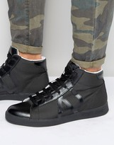 Armani Jeans Hi Top Sneakers