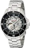 Rotary Men's agb90078/a/04 Analog Display Swiss Automatic Silver Watch