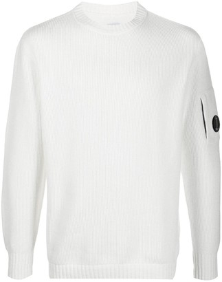 C.P. Company Ribbed-Knit Cotton Jumper