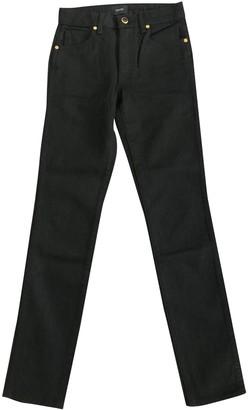 KHAITE Black Cotton Jeans