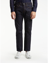 Ps By Paul Smith Standard Fit Crosshatch Jeans, Rinse
