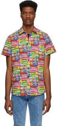 Moschino Multicolor Chewin Gum Shirt