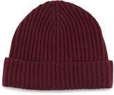 Neiman Marcus Chunky Cuffed Beanie Hat, Shiraz