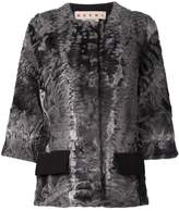 Marni lamb fur jacket