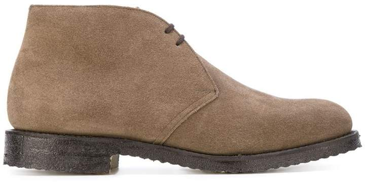 Church's lace-up desert boots