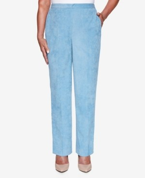 Alfred Dunner Women's Missy Dover Cliffs Corduroy Proportioned Medium Pant