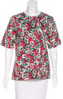 Marni Floral Short Sleeve Top w/ Tags