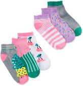 Happy Girl Women's 6-Pk. Ice Cream No-Show Socks